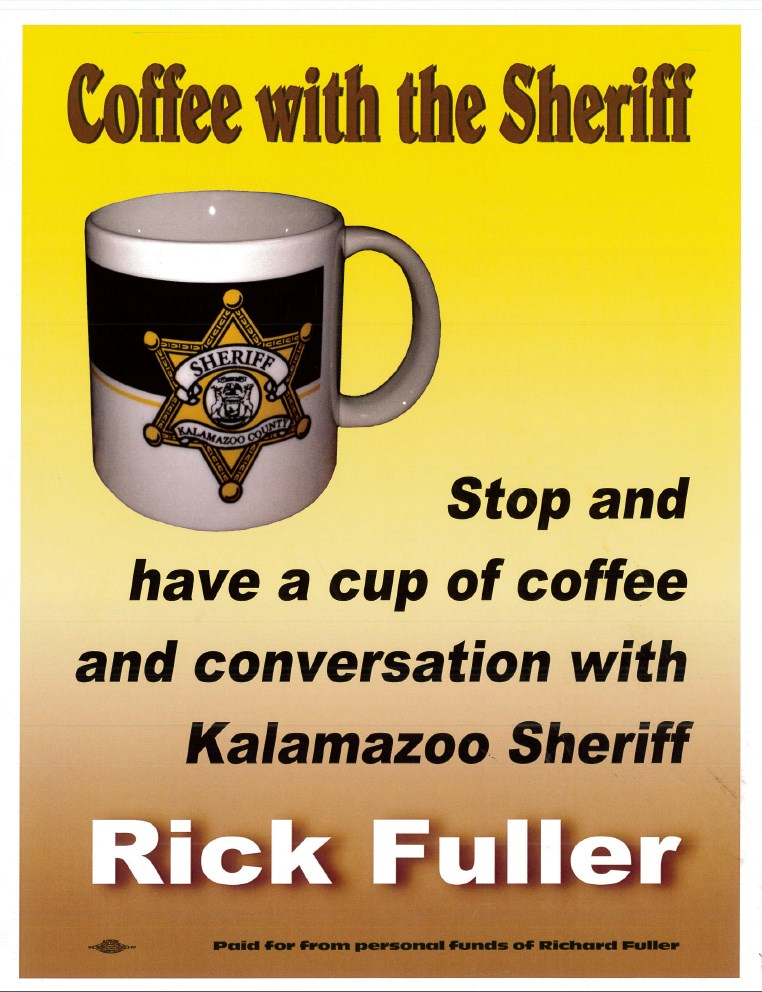 Coffee with the Sheriff logo