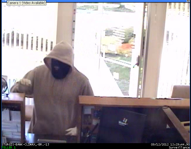 Image of bank robber