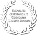 Employee Outstanding Customer Service Award