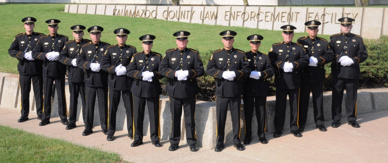 Kalamazoo County Sheriff's Office Honor Guard 2011